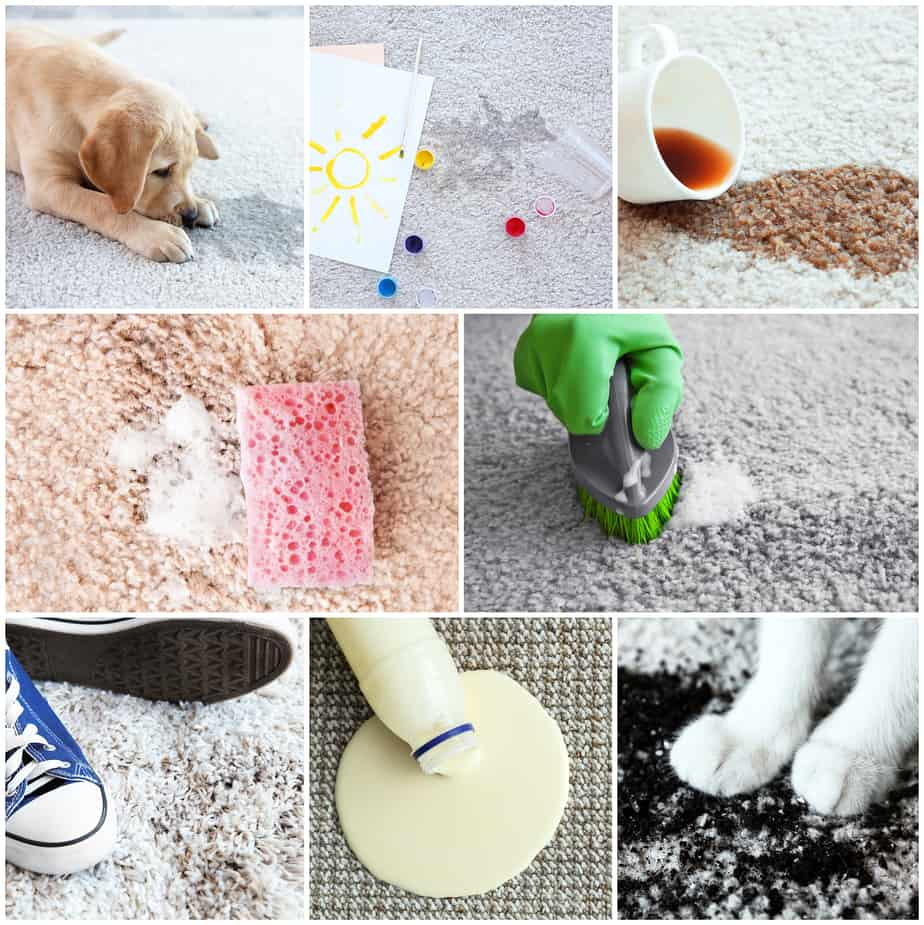 Keeping Your Carpet Clean From Spills