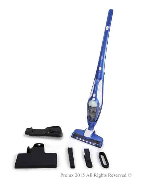 prolux ion vacuum with accessories